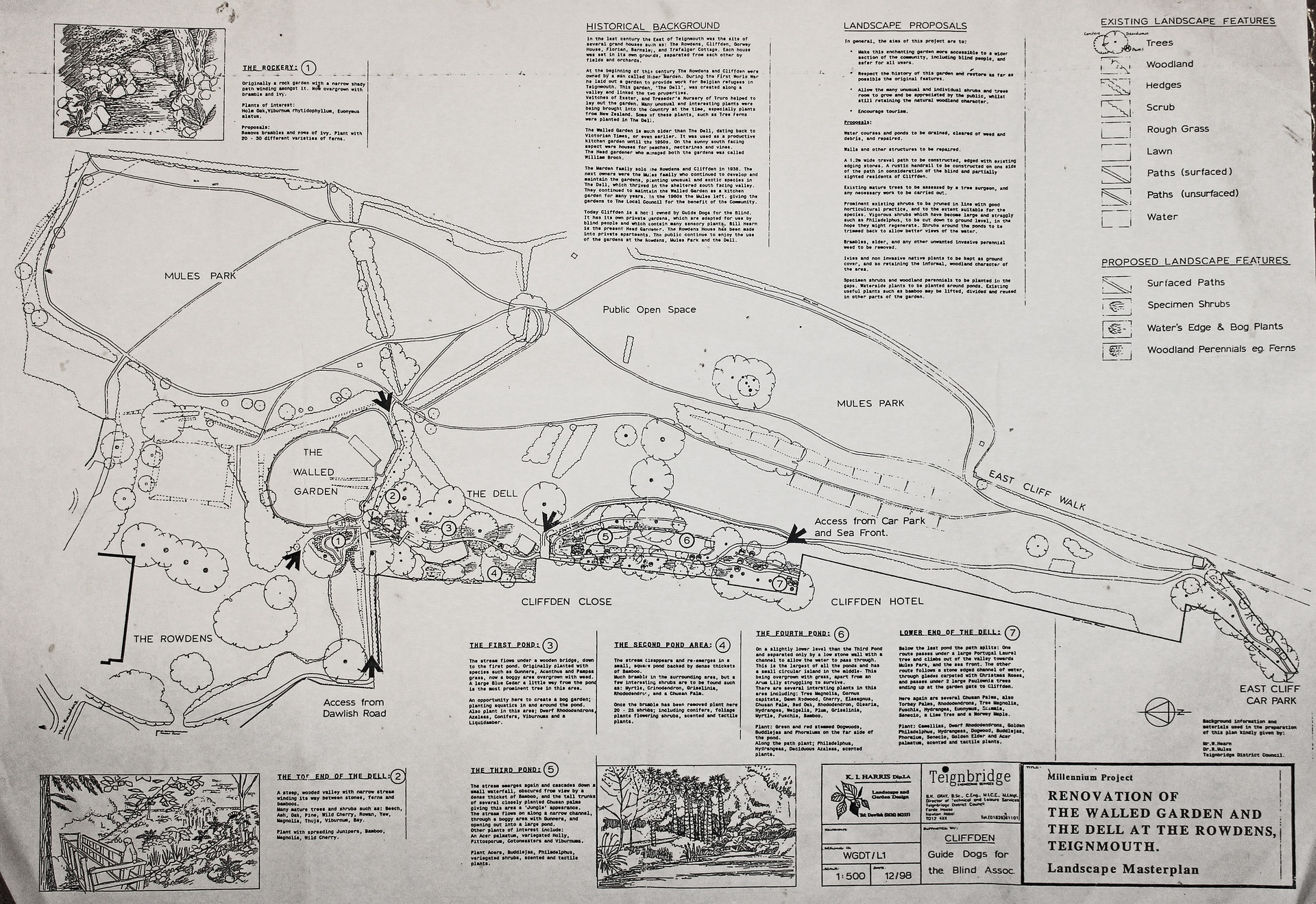 history of eastcliff park mules park teignmouth from 1786
